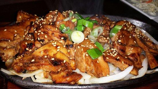 Dak Bulgogi (Korean chicken bbq): fotografía de Hashigo Korean ...