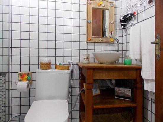 Pousada Riacho dos Cambucas: Banheiro do quarto Standard Vip