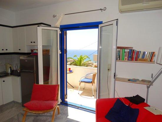 Villa Aliki: View from living Vila Aliki