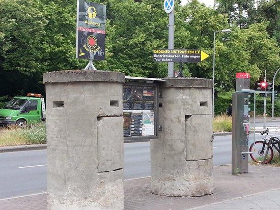 Berliner Unterwelten: entrance to the bunker