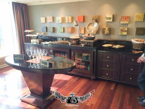 InterContinental Buckhead Atlanta: Executive Lounge