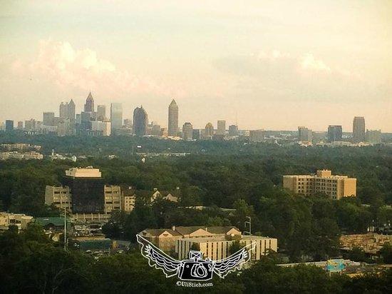 InterContinental Buckhead Atlanta: The view