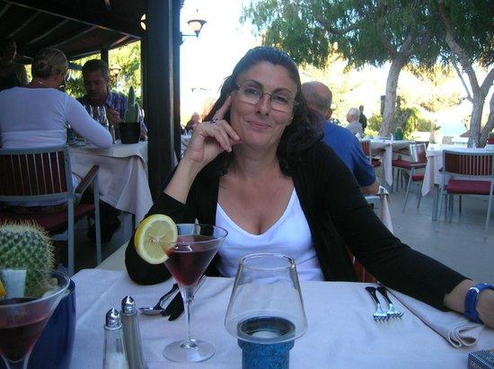 VIK Suite Hotel Risco del Gato: Comedor al aire libre