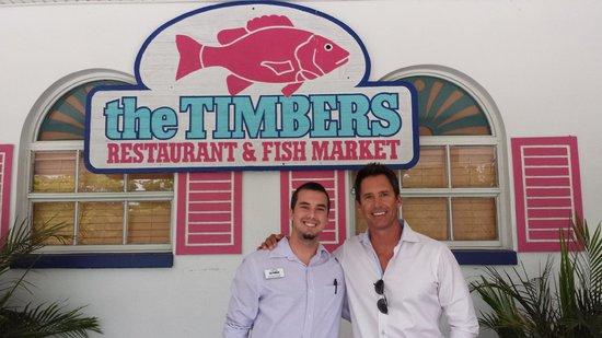 Timbers Restaurant and Fish Market: You da man John