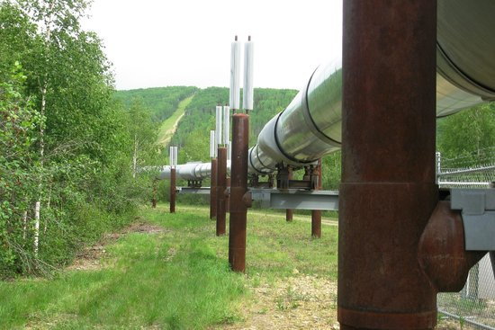 Gold Dredge 8: Alaska Oil Pipeline - not as big as I thought