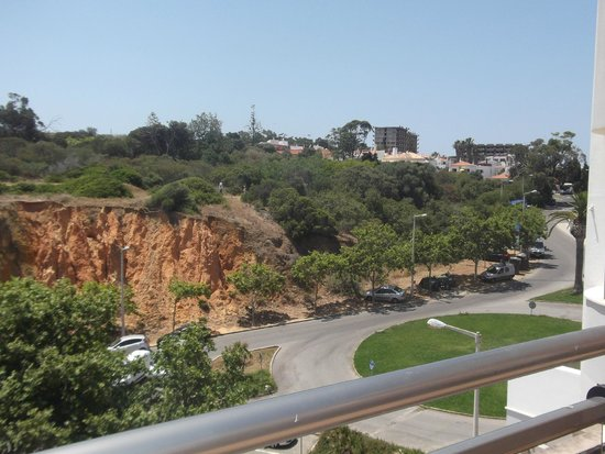 Carvi Beach Hotel Algarve: view from the pool area