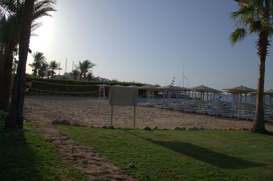 Hotel Novotel Sharm El Sheikh : Волейбольная площадка