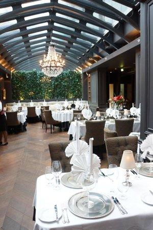 Hotel Telegraaf: restaurant