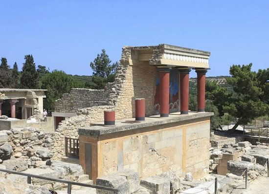 Le Palais de Cnossos : The Palace