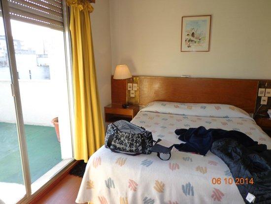 Oxford Hotel: cama confortável..