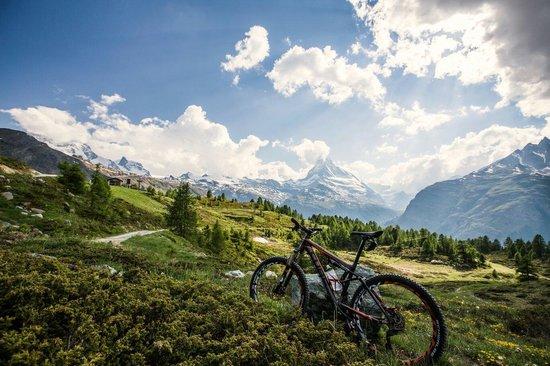 Hotel Eden Wellness: Wunderschöner bike Urlaub in Zermatt. Danke an Hotel Eden.