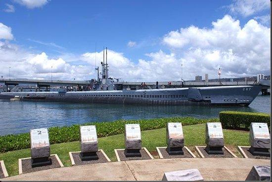 USS Bowfin Submarine Museum & Park: USS Bowfin Memorial Wall
