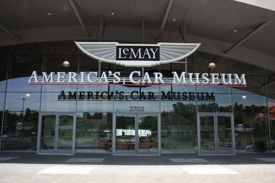 LeMay - America's Car Museum: Entrance