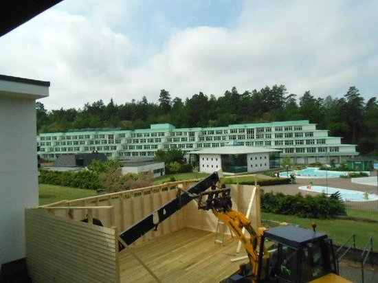 Ronneby Brunn Hotel Spa Resort : Looking over the waterpark