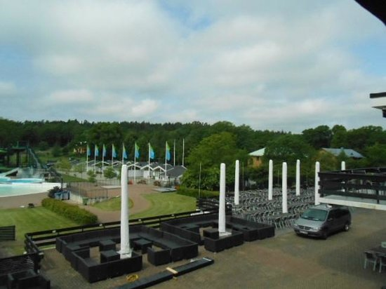 Ronneby Brunn Hotel Spa Resort : More view from the Ronneby Brunn patio