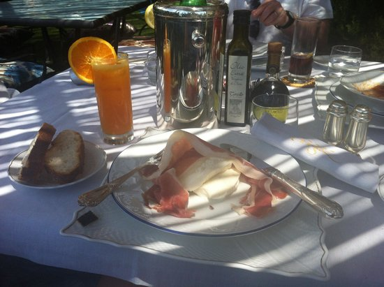 Hotel Botanico San Lazzaro: Delicious, fresh food, generous portions