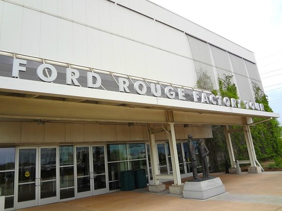 ford rouge visitor center picture of ford rouge factory. Black Bedroom Furniture Sets. Home Design Ideas