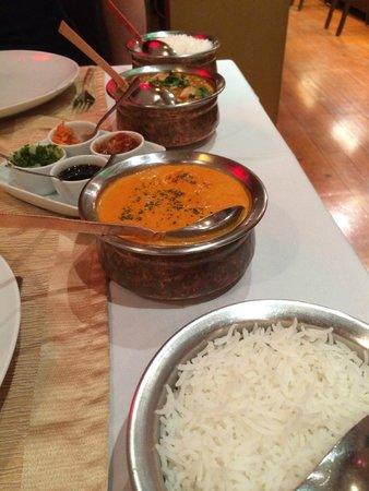 Passage To India : Poulet Tikka Massala (entre autres)