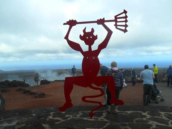 Labranda Aloe Club Resort: Lanzarote vulcano Timanfaya