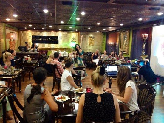 Kelet Csillaga Kávé-és Teaház: Ladies night at Kelet Csillaga Café