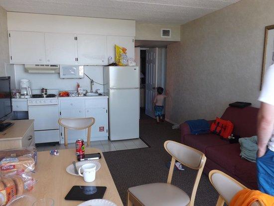 Water's Edge Ocean Resort: Main living area of a D room