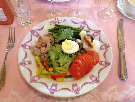 le francais : Piccola insalata nicoise
