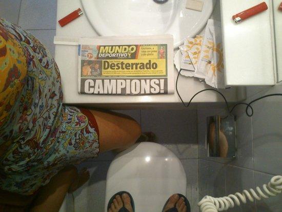 H TOP Caleta Palace: Sobran los comentarios de este lavabo.