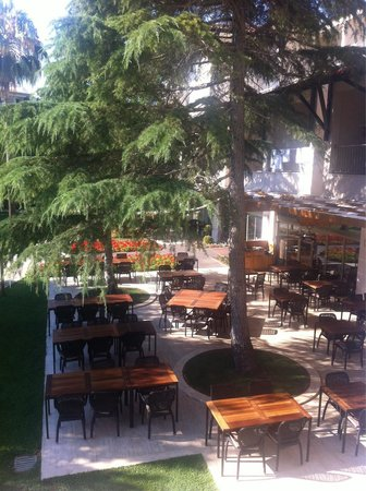 Barut Hemera : Outside of the restaurant