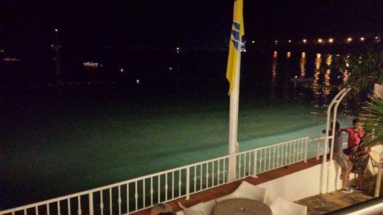 Hotel Ristorante Il Cefalo: La famosa terrazza sul mare, davvero bellissima