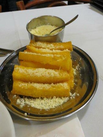 Komka: fried polenta