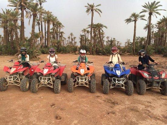 Maroc Quad Passion: At the Palmerie