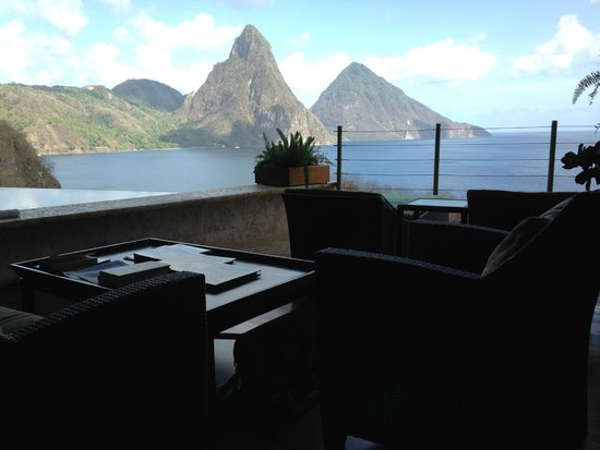 Jade Mountain Resort : View From Room