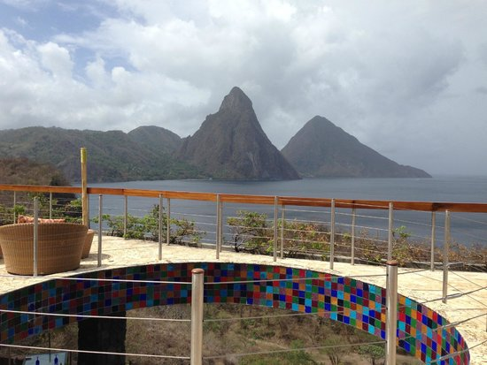 Jade Mountain Resort : Celestial Terrace
