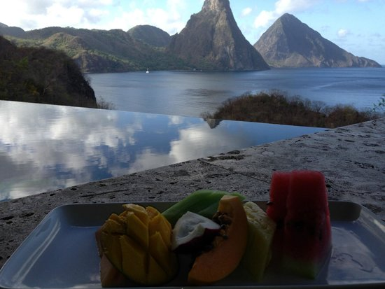 Jade Mountain Resort: View From Room