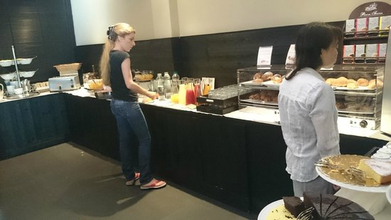 The Style Florence : desayuno buffet