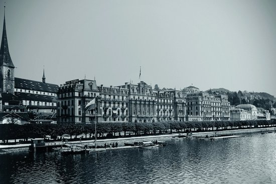 Grand Hotel National in 1900