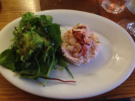 SeaDrift Kitchen Cafe: Fab salmon and lobster!