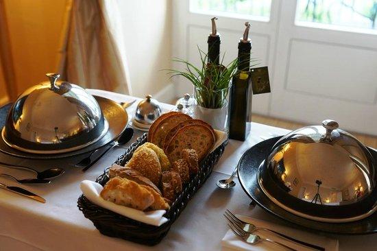 Restaurant Les Trois Couronnes: Dinner starter