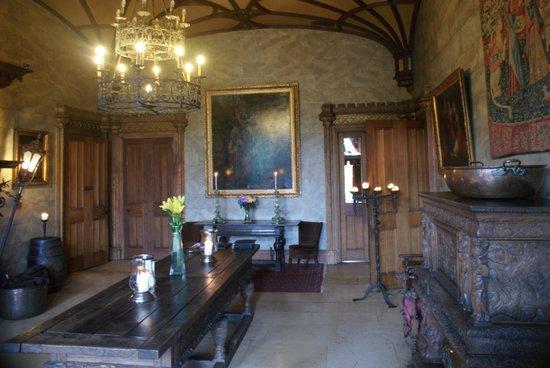 Belleek Castle: La salle d'entrée