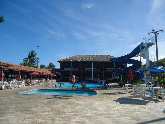 Hotel Costa Cabralia : area da piscina