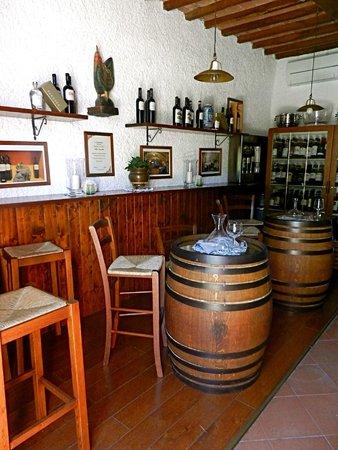 Hotel Belvedere Di San Leonino: wine tasting