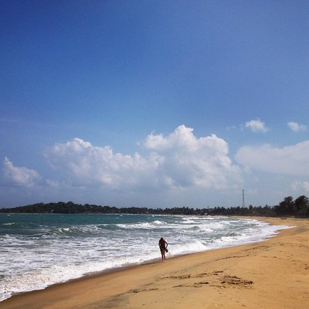 Stardust Beach Hotel : The beach at Arugam Bay