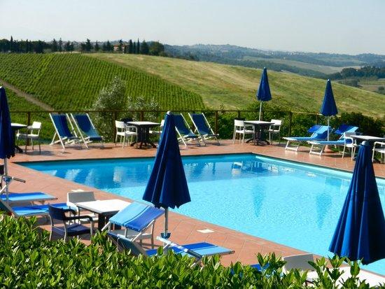 Hotel Belvedere Di San Leonino: What a view