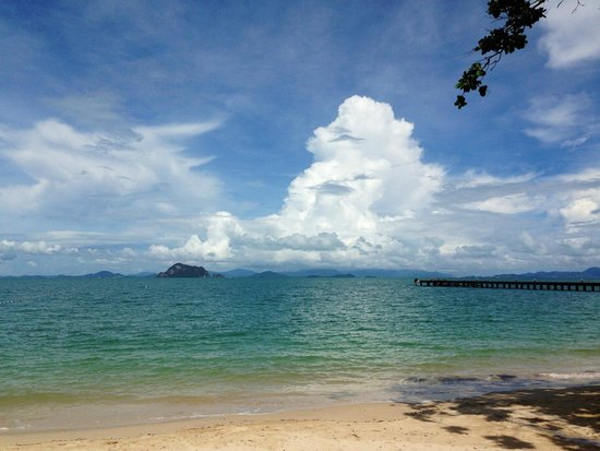 Santhiya Koh Yao Yai Resort & Spa: view from their beach front.