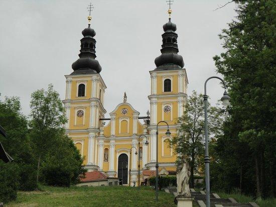 Basilika Mariatrost: Chegando...