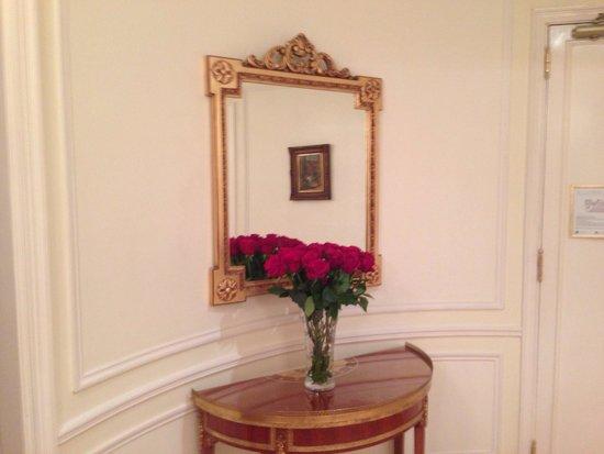 Alvear Palace Hotel: Без свежих роз никак