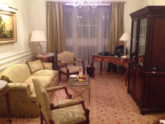 Alvear Palace Hotel: Гостиная