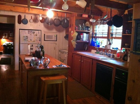 Henson Cove Place B&B: Kitchen/wine bar