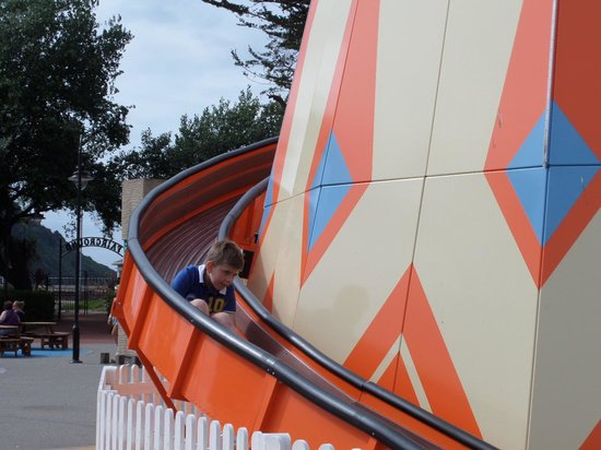 Butlin's Minehead : my sons favourite...the helter skelter