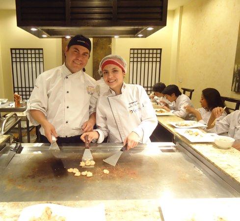 Swissotel Quito: Teppanyaki en el Restaurante Tanoshii